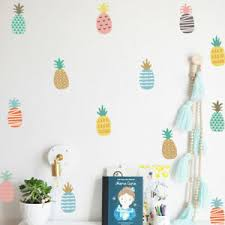 Pineapple Wall Stickers Vinyl Art Removable Home Kids Room Decals Decor Mural Us Ebay
