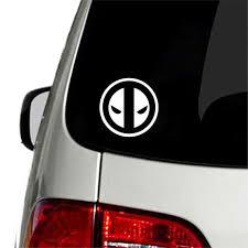 Deadpool Vinyl Decal Car Truck Window Sticker Marvel Decal Etsy