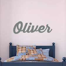 Buy Personalized Name Wall Decal Baby Name Decal Nursery Name Decal Boys Wall Decals Girls Name Decal Wall Vinyl Decal Name In Cheap Price On M Alibaba Com