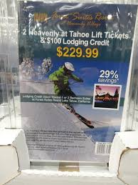 heavenly at tahoe ski package