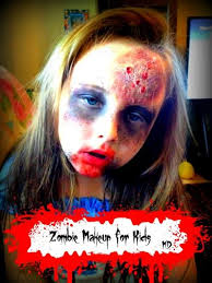 zombie makeup for kids real advice gal