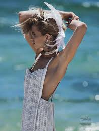 Abbey Lee Kershaw by Gilles Bensimon for Vogue Australia April 2014 | The  Fashionography