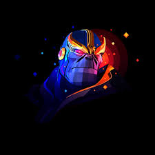 thanos facets 4k wallpaper retina ipad