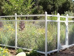 vinyl snaptogether garden fence