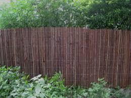 Garden Screening Bamboo Screens Bark Fencing Fence Induced Info