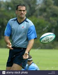 Martin Johnson rugby practice Stock Photo: 107356204 - Alamy