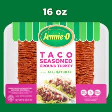 lean taco seasoned ground turkey