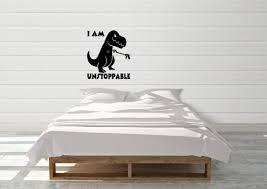 I Am Unstoppable T Rex Dinosaur Car Sticker Funny Vw Dub Bumper Window Decal Archives Midweek Com