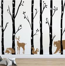 Tree Wall Decals Tagged Birch Wall Decal Designedbeginnings