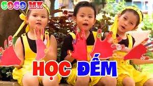 Học Đếm - Nhạc Thiếu Nhi Vui Nhộn Cho Bé Ăn Ngon - 12345 - YouTube