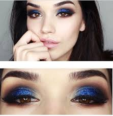 makeup ideas for blue eyes and brown hair