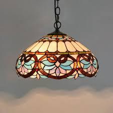 blue love heart lampshade pendant lamps