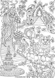 The Land Of Fantasia Fantasy Garden Kleurplaten Kleuren En Dieren
