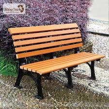 metal legs park bench garden bench wpc
