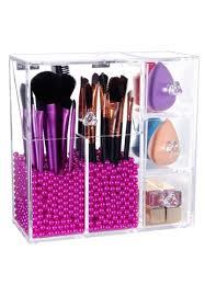 brush works makeup brush organizer