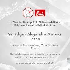 Fmln Mejicanos - La familia del FMLN Mejicanos lamenta... | Facebook