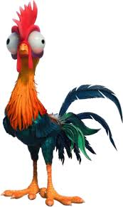 Heihei The Rooster Chicken Of Walt Disney S Moana Window Cling Decal Sticker Antique Price Guide Details Page
