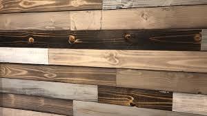Super Easy Wood Accent Wall Idea Dyi Wood Plank Wall Youtube