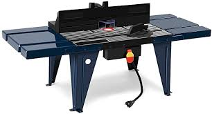 Amazon Com Goplus Electric Aluminum Router Table Wood Working Craftsman Tool Benchtop Kitchen Dining