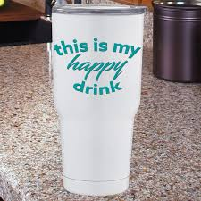 This Is My Happy Drink Vinyl Decal Rhybo Vinyl Decals