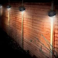 Kingavon Solar Fence Light Free Uk Delivery