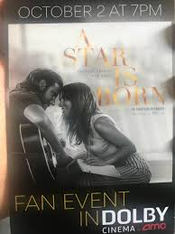 A Star Is Born was the best AMC Dolby experience I've had yet. The sound  mixing was spectacular, and it truly made me feel as if I was sitting at a  live