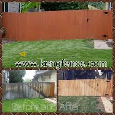 Before And After Power Wash And Stain By Www Kengfence Com Call 720 431 0927 In Denver And Boulder Co Cedar Fence Wooden Fence Cedar