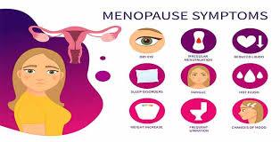 Image result for menopause symptoms