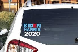 Joe Biden 2020 Vinyl Car Decal Bumper Sticker Buttons For The People