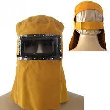 leather welder electric welding hood