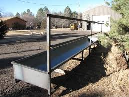 Sold Fence Line Feed Bunks Cattle Barn Cattle Feed Cattle Feeder