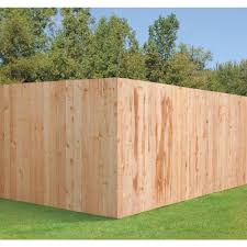 Outdoor Essentials 5 8 In X 6 In X 6 Ft Western Red Cedar Flat Top Fence Picket 8 Pack 274478 The Home Depot 1 In 2020 Cedar Fence Building A Fence Wood Fence