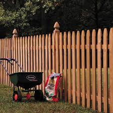 4x4 5 Ft Cedar French Gothic Fence Posts Outdoor Essentials