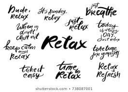 imagenes fotos de stock y vectores sobre quotes time relax