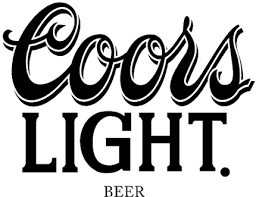 Coors Light 1 Graphic Logo Decal Customized Online