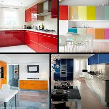 gloss self adhesive kitchen cupboard