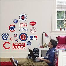 Chicago Cubs Logo Sheet Fathead Jr