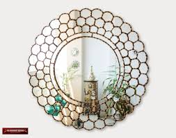 large gold round wall mirror 31 5 from