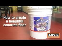 coating to concrete floors