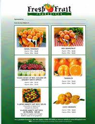fruit fundraiser navel oranges