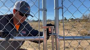 Gate Drop Rod Holder Cleaning Tips For A Chain Link Fence