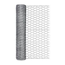 Fencer Wire 2 Ft X 10 Ft 20 Gauge Poultry Netting With 1 In Mesh Nb20 2x10m1 The Home Depot Rolled Fencing Chicken Fence Galvanized