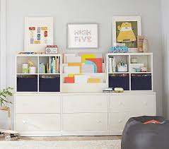 Build Your Own Cameron Wall System Playroom Storage Pottery Barn Kids