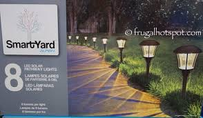 costco smartyard solar led large