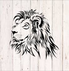 Lion Decal Car Decals Lion Stickers Lion Head Decal Wall Etsy