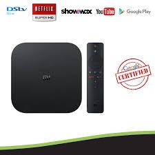 Xiaomi Mi Box S Google Certified 4K Android TV OS Media Streaming TV B – Android  TV Box SA