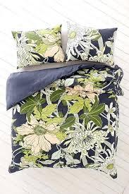 botanical duvet cover botanical scarf