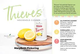 thieves household cleaner is the only