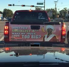 Texan S Truck Has Possibly The Most Racist Decal Ever Expressnews Com