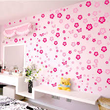 Home Furniture Best Price 108pcs Flowers And 6pcs Butterfly Wall Stickers Living Room Bedroom Art Decals Home Decoration Furniture Stickers Baby Nursery